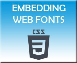 CSS3 Embedding Web Fonts