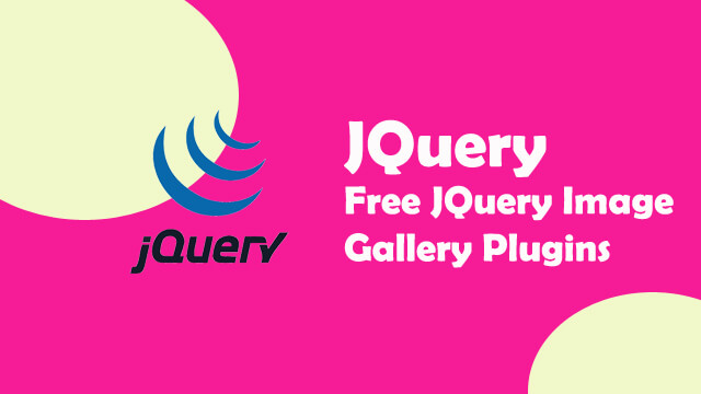 Free JQuery Image Gallery Plugin