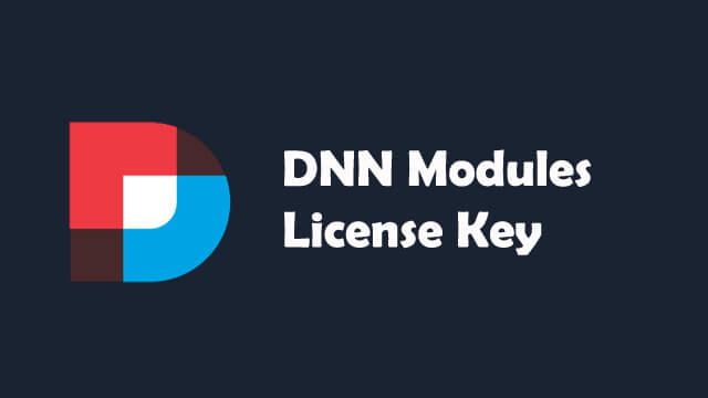 DNN License Key