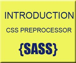 Introduction to Sass