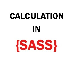 SASS Math Calculation