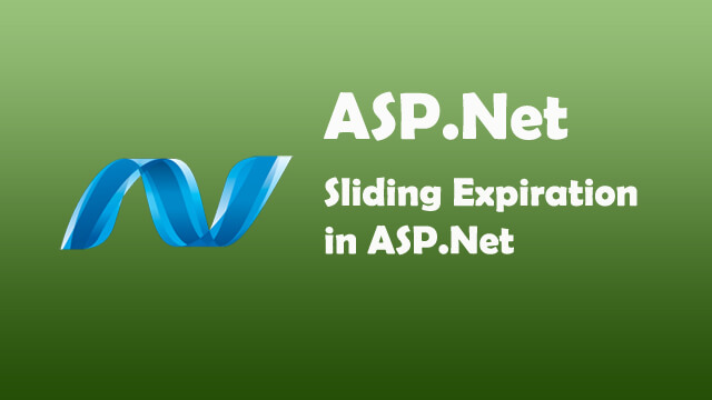What is slidingExpiration attribute in ASP.Net?