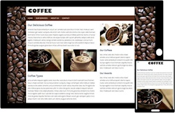 Free Bootstrap Template - Coffee Theme
