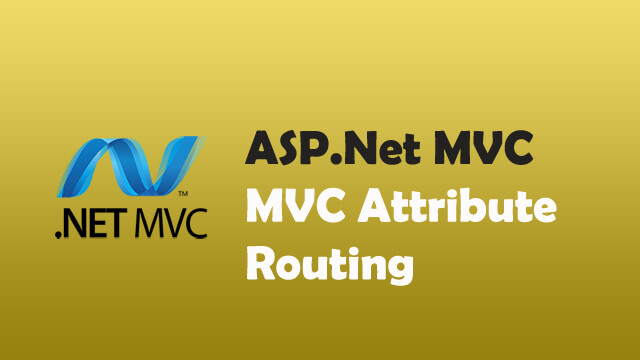 How to enable attribute routing in C# MVC?