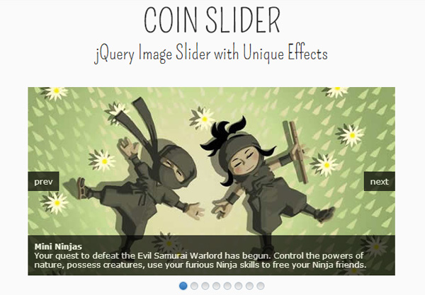 JQuery Coin Slider