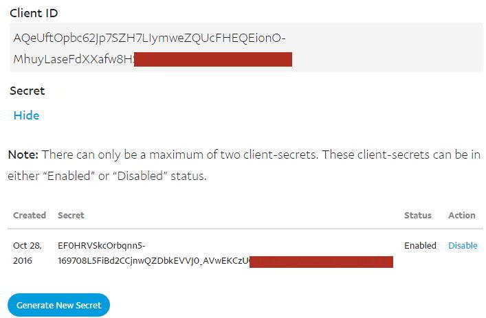 PayPal Express Checkout using C# MVC