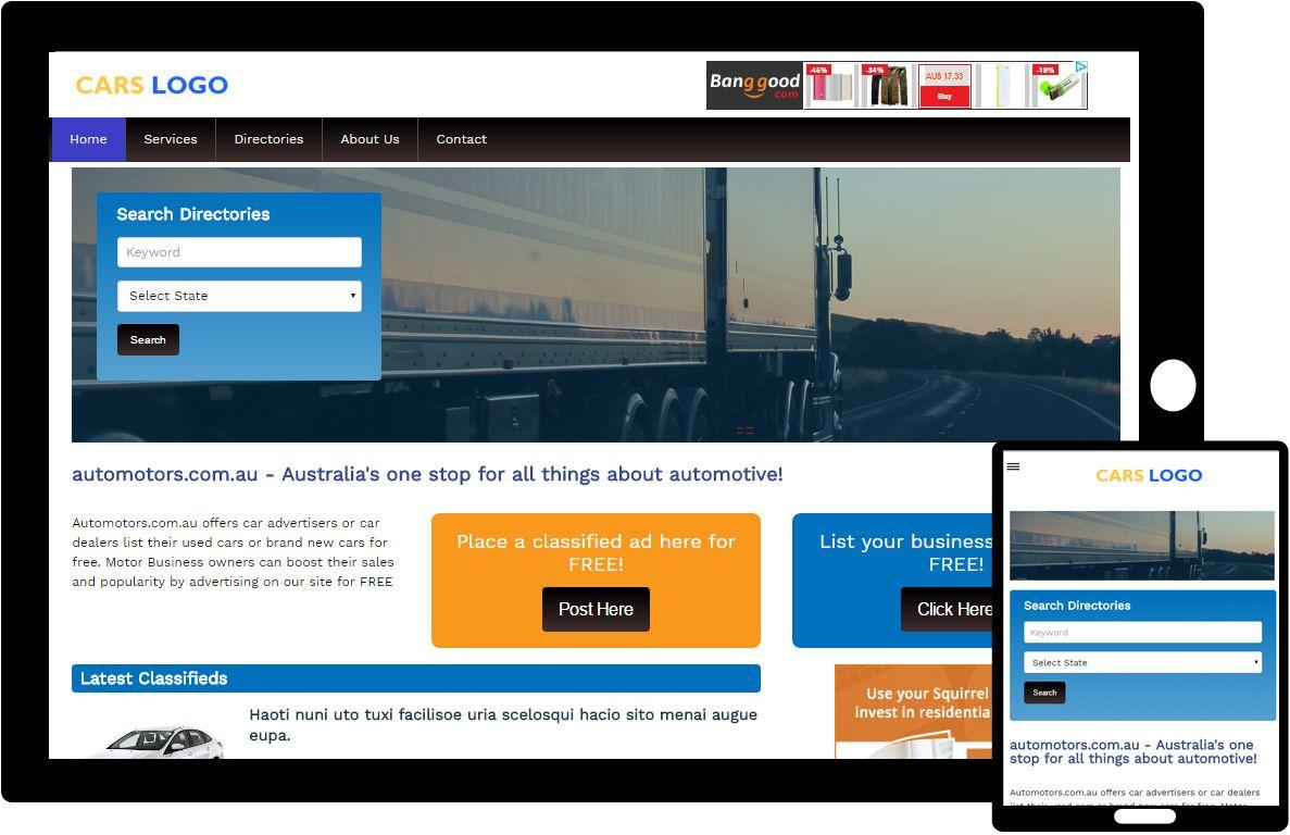 Free responsive html5 css3 website template carauto free responsive html5 css3 template car auto website template maxwellsz