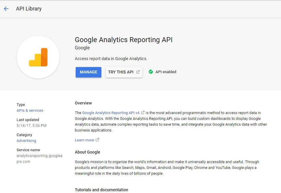 Google analytics api tutorial using javascript once gumiabroncs Images
