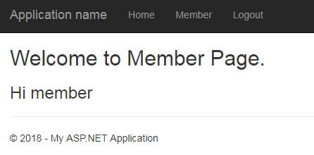 ASP Net MVC Identity without using Entity Framework
